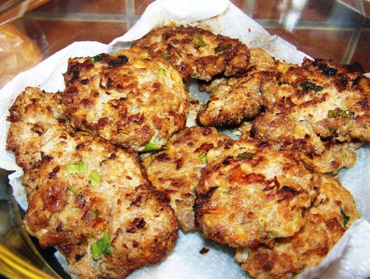 Verus konyhája: Cukkinis húspogácsa