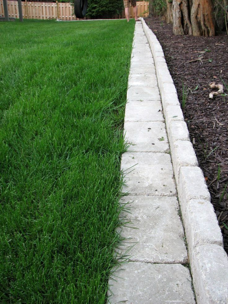 34 Favourite Front Yard And Backyard Landscaping Ideas On A Budget Home Garden Garden Pavers Garden Paving Landscape Edging Stone