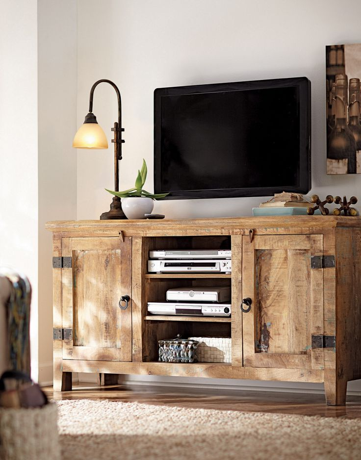 Best 25+ Rustic entertainment centers ideas on Pinterest ...