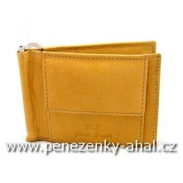 Dolarka - pánská peněženka vyrobená z masivní kůže.