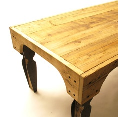 neat idea for a table... you could also use wood from pallets