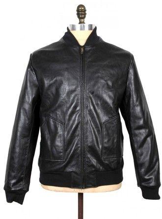 THE BOMBER MK 1 – Genuine leather jacket.  Bomber Jacket