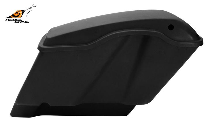 """RS 4,5"""" Extended Hard Saddlebags with Lids for Touring 2014 Image"""