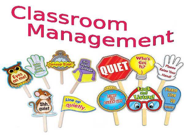 Classroom management techniques.