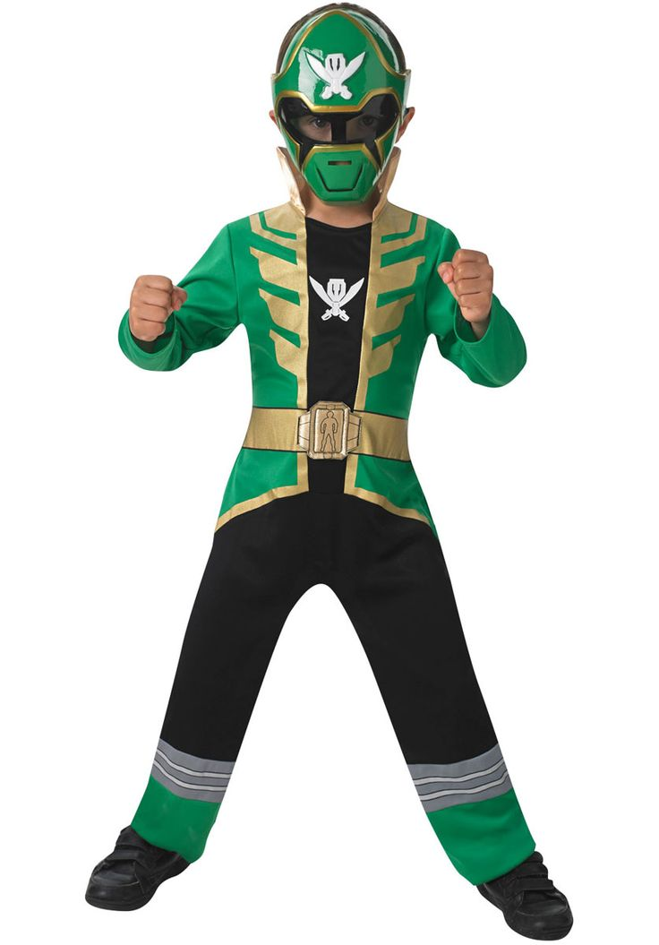 Green Super Megaforce Power Rangers Costume for Children - General Kids Costumes at Escapade™ UK - Escapade Fancy Dress on Twitter: @Escapade_UK