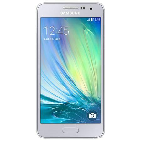 Samsung Galaxy A3 SM-A300F 4G 16Gb silver  — 11485 руб. —  Samsung Galaxy A3 - это первый смартфон Samsung в цветном металлическом корпусе, отличающийся роскошным инновационным дизайном и великолепным 4,5-дюймовым qHD sAMOLED экраном. Ваши вытянутые вперед руки еще не означают, что снимок безнадежно испорчен. При съемке селфи смартфоном Samsung GALAXY A3 вам можно и не касаться кнопки. Делайте селфи с помощью голосовой команды или жеста рукой и пусть ваши друзья думают, что вас снимал ваш…