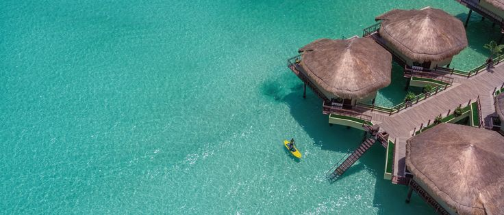 All Inclusive Adults Only Resort |  El Dorado Maroma Resort with bungalows with glass bottoms or swim-up suites