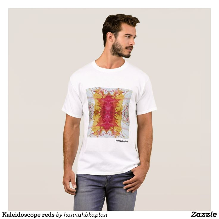 Kaleidoscope reds T-Shirt - Classic Relaxed T-Shirts By Talented Fashion & Graphic Designers - #shirts #tshirts #mensfashion #apparel #shopping #bargain #sale #outfit #stylish #cool #graphicdesign #trendy #fashion #design #fashiondesign #designer #fashiondesigner #style