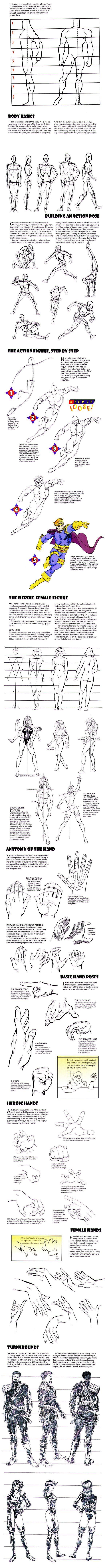 How to Draw Comics (2) https://www.facebook.com/CharacterDesignReferences