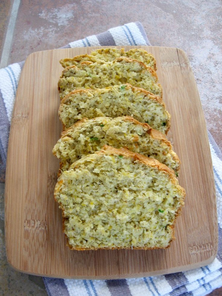 Try this Herb and Cheddar Squash Bread recipe to help use up any extra summer squash or zucchini you may have!
