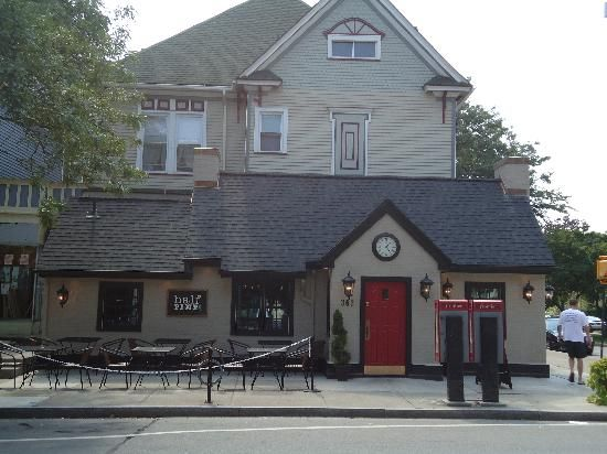 The Half Pint Pub park ave + oxford by the magnolias