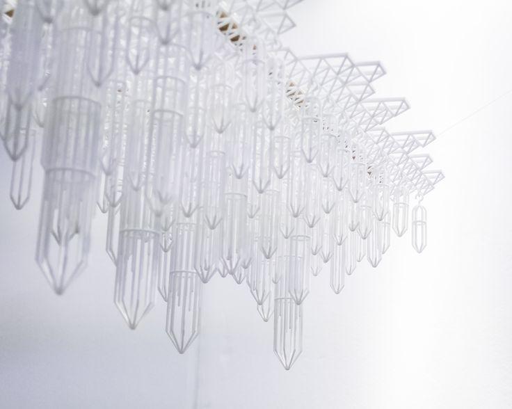 Our 3D printed centerpiece feature showcased at London Design Fair 2017, MALINKO Design