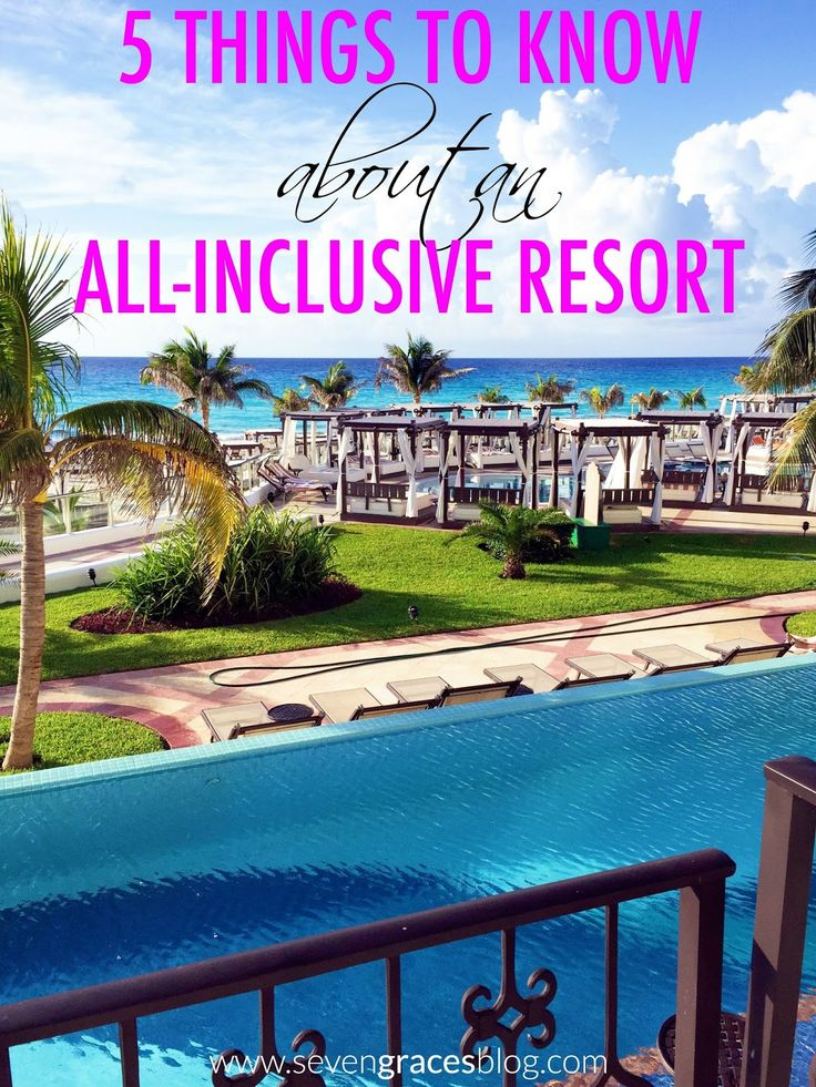 5 Things to Know about an All-Inclusive Resort: Our Cancun Recap. Hyatt Zilara Cancun review.