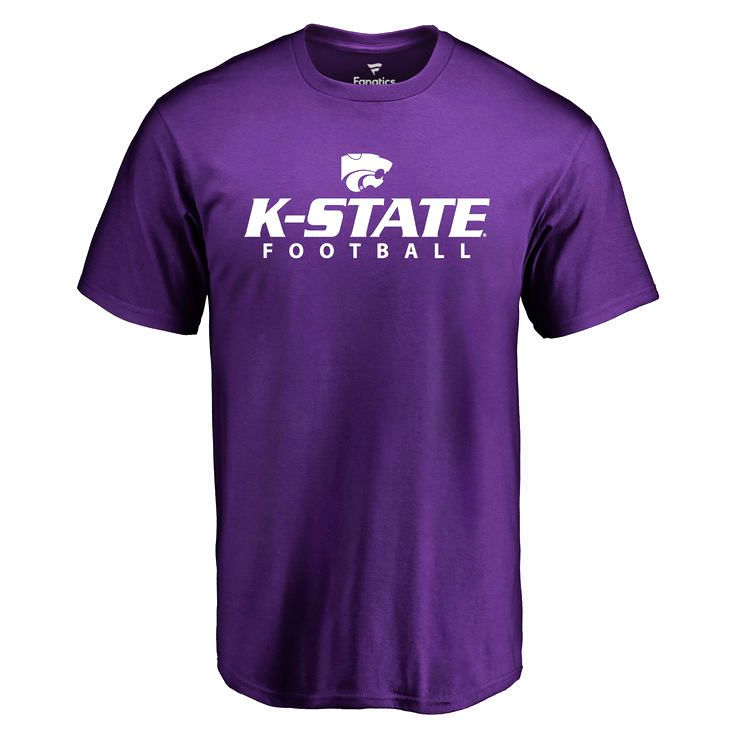 Kansas State Wildcats Kansas State Football T-Shirt - Purple - $19.99