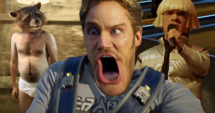 New Guardians of the Galaxy 2 Weird Trailer Is Mind-Melting Insanity -- Characters from Inside Out, Spider-Man 3, Suicide Squad and more find themselves in the new weird trailer for Guardians of the Galaxy 2. -- http://movieweb.com/guardians-galaxy-2-weird-trailer/
