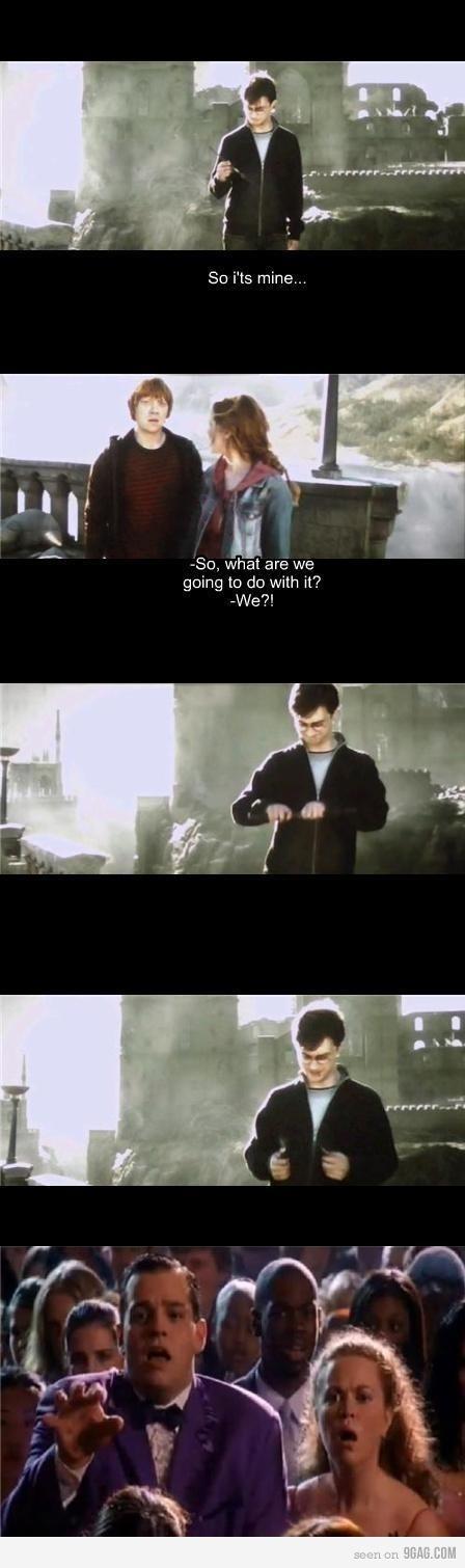 harry potter, meet mean girls. hahaha
