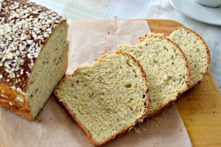 ¿Pensaban que ya me había olvidado de hacer pan? Pues no, desde que me amisté con la levadura trato de hacer pan cada vez que puedo, porque me encanta el olor que queda en toda mi casa. Esta vez de...