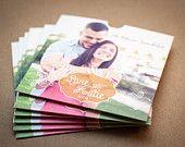 Pre made SAMPLE - CD sleeve, Custom, dvd sleeve, wedding favour, wedding gift, wedding Cd case, Wedding CD