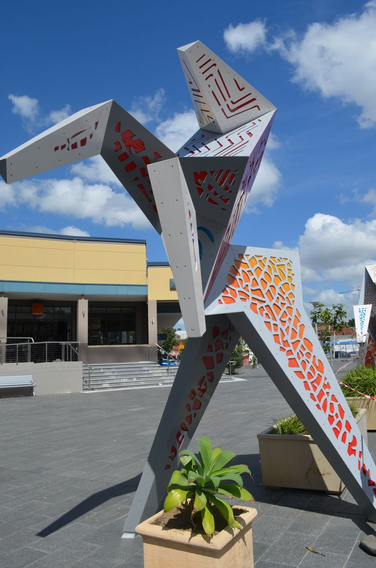 Sculpture in West Ryde Marketplace, NSW