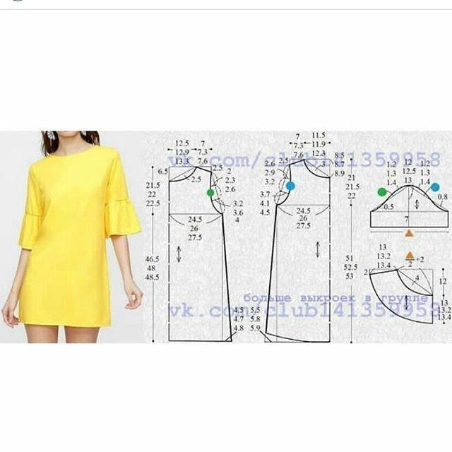 S, M, L beden ALINTI #elbisekalıbı #dresspattern #dikiskalipvepatronlarielbise Desteklemek için lütfen yorum yapınız & begen butonuna basınız. ❤ to support us, please like and comment❤ #kendindik #hautecouture #sewingproject #sew #sewing #sewinglove #sewforinstagram #kumaş #fabric #tasarım #fashion #moda #dikiş #dikisdikmek #dikiskalibi #freesewingpattern #fashionblogger #sewingblogger #pattern #desing #tailor #instamoda #modelist #handmade #instablogger