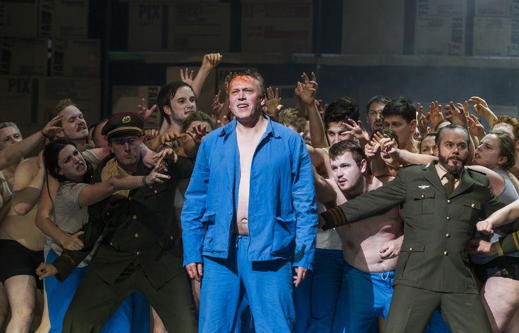 Turandot - Neal Cooper (Calaf), Eamonn Mulhall (Pong), Paul Carey Jones (Ping), The Chorus of Northern Ireland Opera - #TurandotBelfast