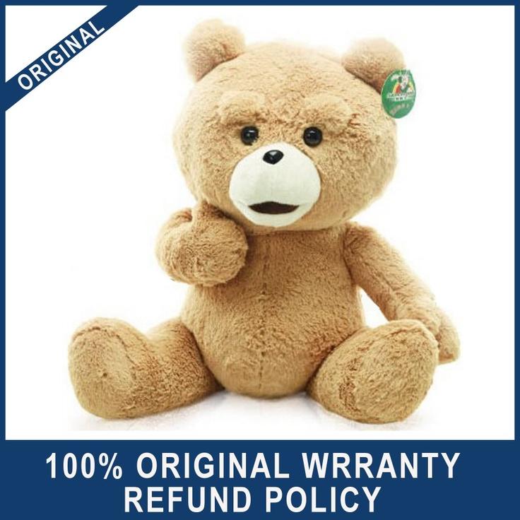"Free shipping! 24""Teddy Bear Stuffed Plush The Movie Man's Ted Bear Toys / Dolls Original 60cm-in Stuffed & Plush Animals from Toys & Hobbies on Aliexpress.com"