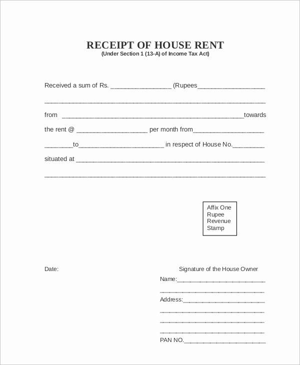 Rent Paid Receipt Template In 2020 Job Application Letter