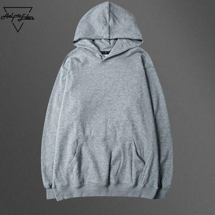 >> Click to Buy << Aelfric Eden 3XL Fleece Male Hoodie Sweatshirt Rasher Solid Hoodies Kanye West Tracksuit Men Moletom Masculino Ali Hip Hop Hoody #Affiliate