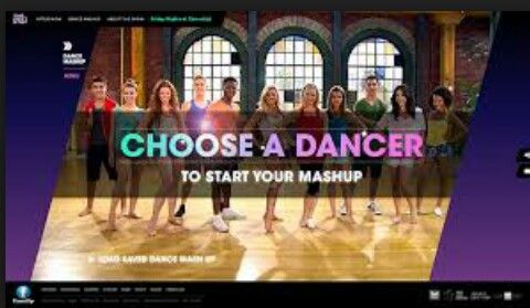 Go to family.ca and choose a dancer to start your mashup