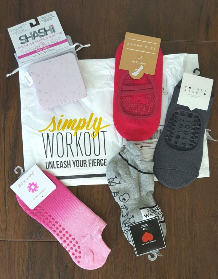 Battle of the Barre Socks: A Sticky Sock Review