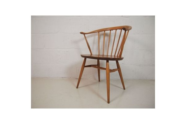 Ercol Cow Horn Chair photo 1