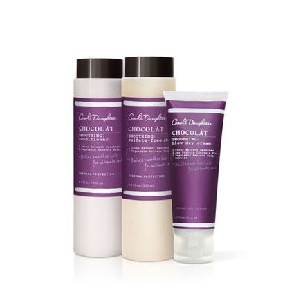 "The great thing about this collection is that no matter if your hair is wavy, curly, or even kinky, you are promised the result of smooth, ""mink-like"" locks that will ""last up to 72-hours with 70% less frizz."""