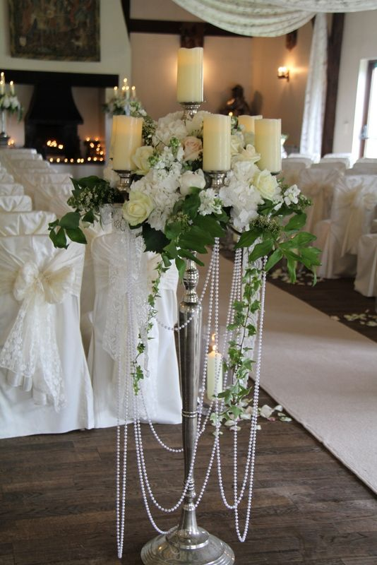 Flower Design Events: The Delicate & Seriously Elegant Wedding Day of Tina & Ben at The Great Hall at Mains