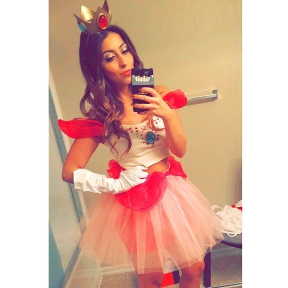 princess daisy teen girl costume princess peach