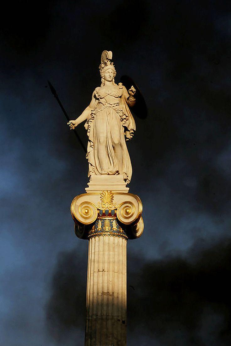 Statue of Athena   Athens   Greece