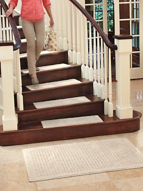 Vista Rugs   Durable Latex Backing Provides Nonslip Safety On Hard Floors  And Stairs. Cleaning. Carpet Stair TreadsCarpet ...