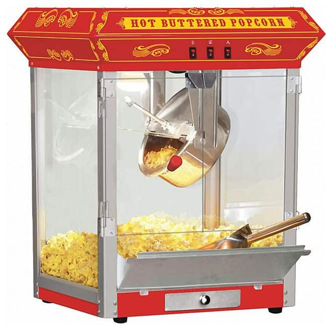 Funtime Carnival Style 8-oz Hot Oil Popcorn Machine