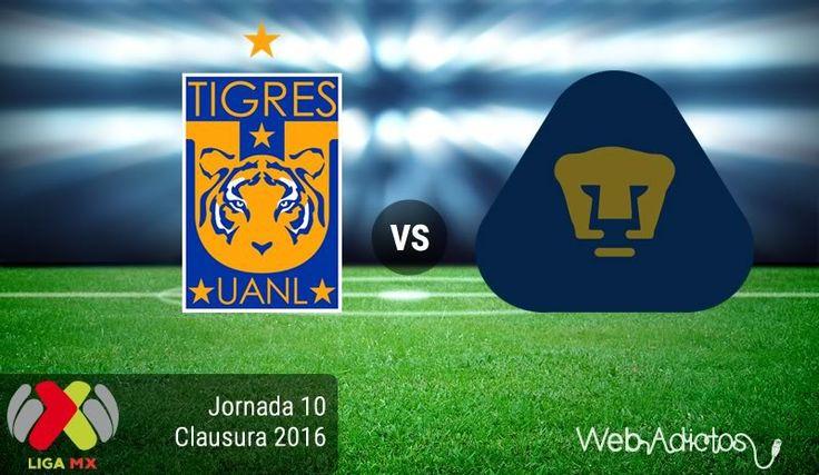 Tigres vs Pumas, Liga MX Torneo Clausura 2016 ¡En vivo por internet! - https://webadictos.com/2016/03/12/tigres-vs-pumas-clausura-2016/?utm_source=PN&utm_medium=Pinterest&utm_campaign=PN%2Bposts