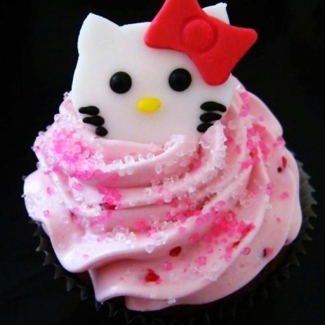 Hello Kitty Cupcakes!