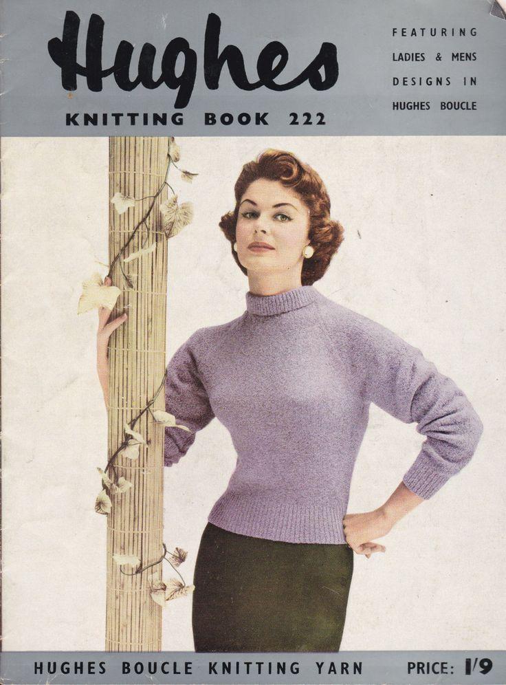 Vintage knitting pattern books