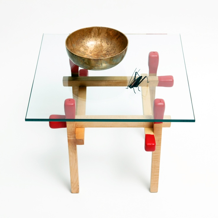 Maple Matchstick Table