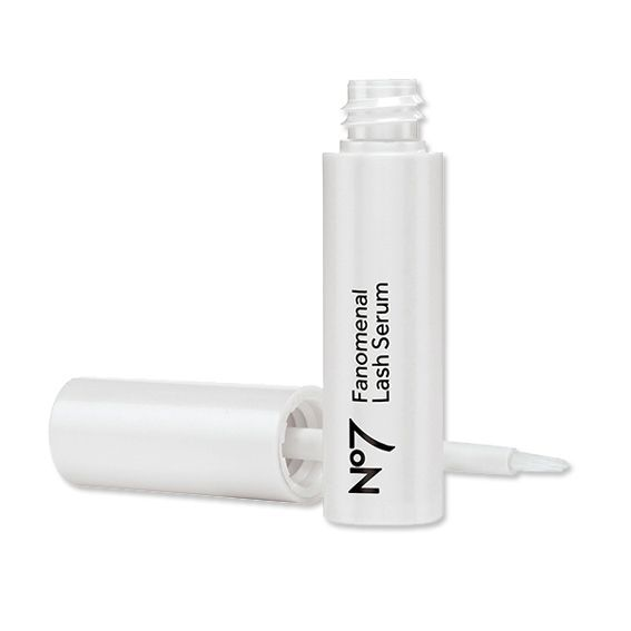 Lash Out! The 11 Best Eyelash Growth Serums On the Market - Boots No. 7 Fanomenal Lash Serum from #InStyle