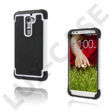 Impact (Hvit) LG G2 Ultra-Sikkert Deksel