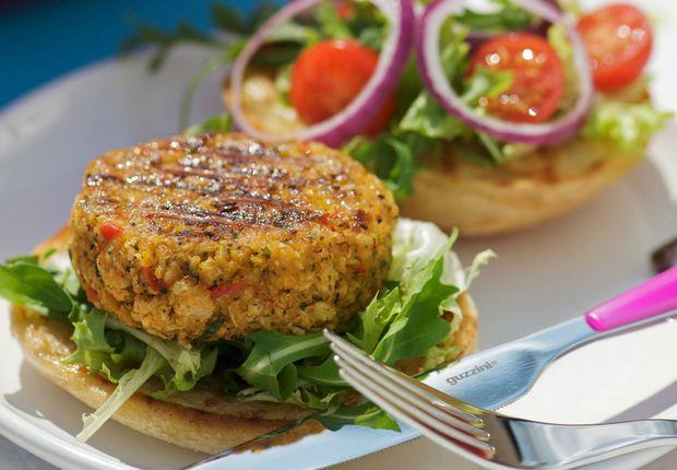 Hamburger végétarien Venez découvrir notre hamburger végétarien