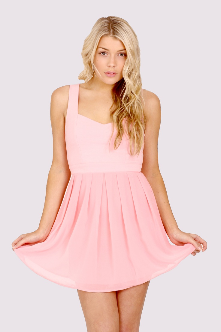 'Heidi' Heart Cut Out Dress