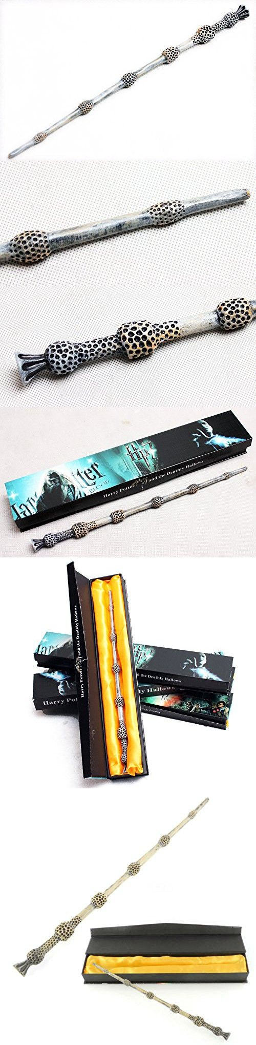 Vision 1:1 Harry Potter Magic Wand Series Replica With Original Gift Box. Albus Dumbledore Wand