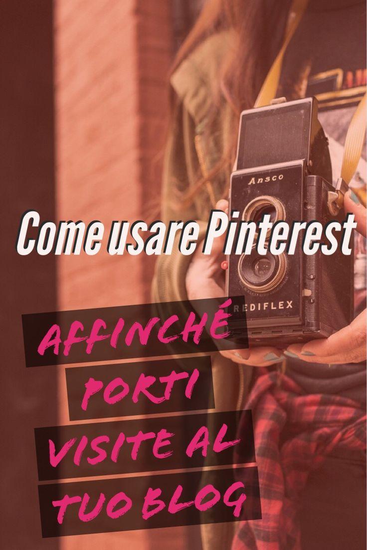 come usare pinterest affinché porti traffico al tuo blog - www.sabriabarbante.com