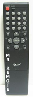 ORION-SANSUI-BROKSONIC 076R0MJ030 remote control, in stock. New factory original replacement Remotes: OEM TV VCR DVD Stereo.