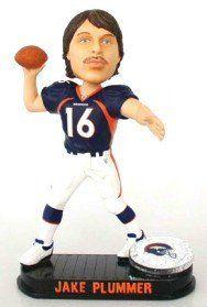 Denver Broncos Jake Plummer Forever Collectibles Black Base Bobble Head