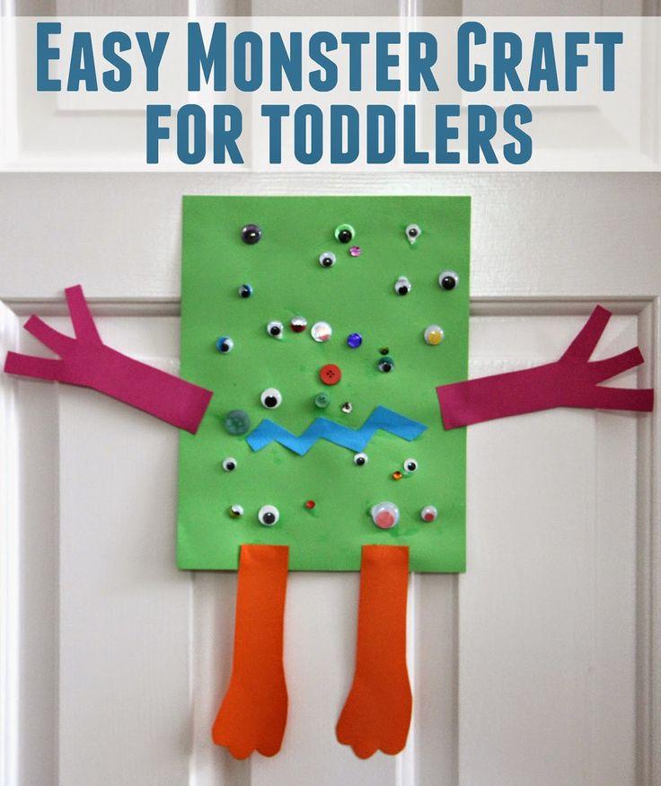 Niño Aprobado !: Fácil Artesanía Monster para niños pequeños